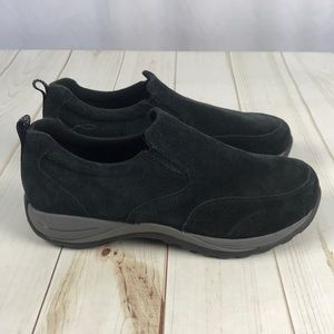 LL Bean Suede Slip-on Shoes 9W